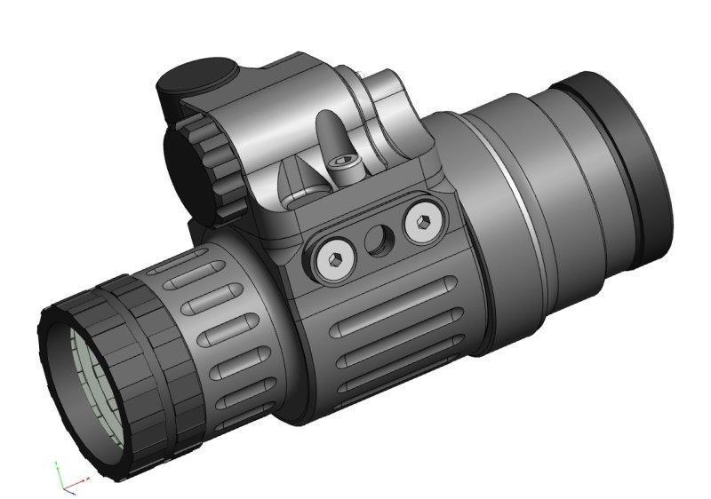 Superjagd jagd shop universal adapter für nightspotter